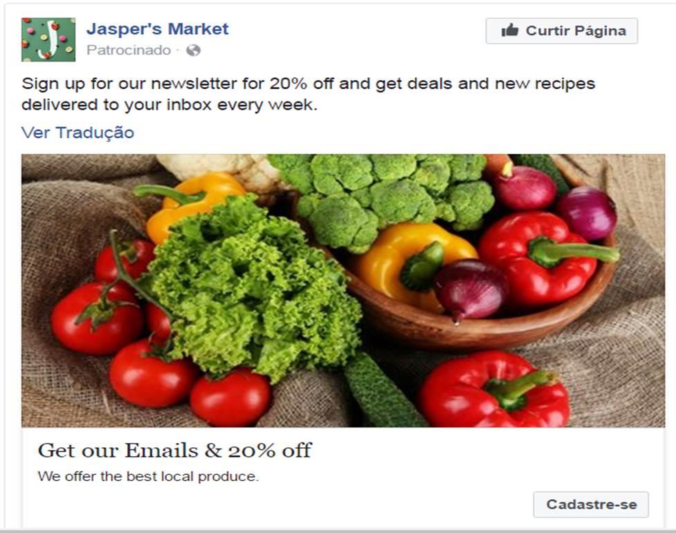 FB Exemplo de Post