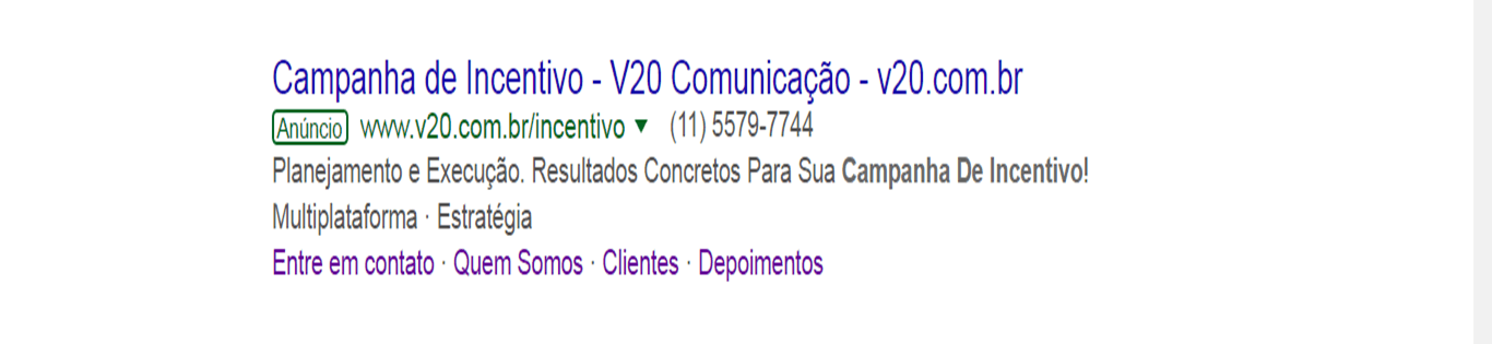 Adwords V20 Exemplo