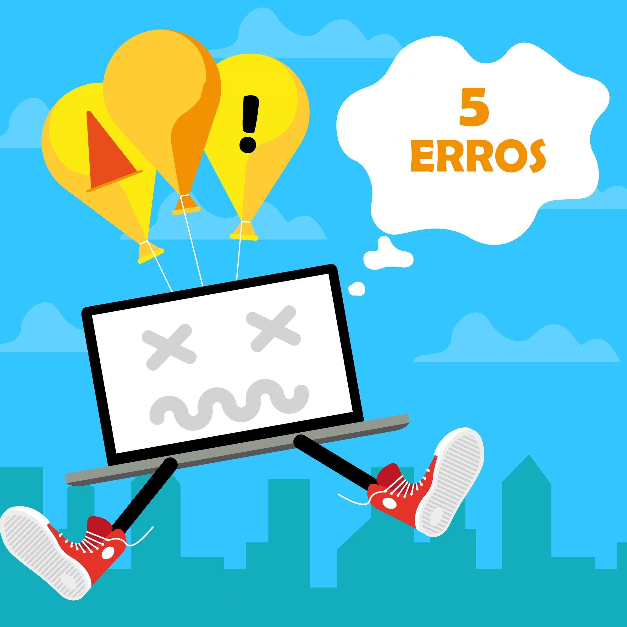 5 erros